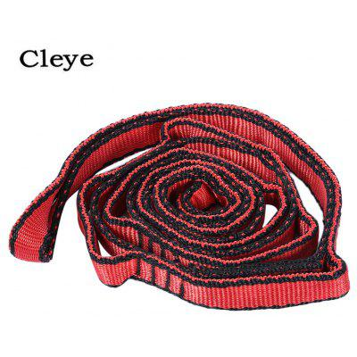 CLEYE Heavy-duty Strong Hammock Tree Strap Hanging Rope Yoga Resistance Band