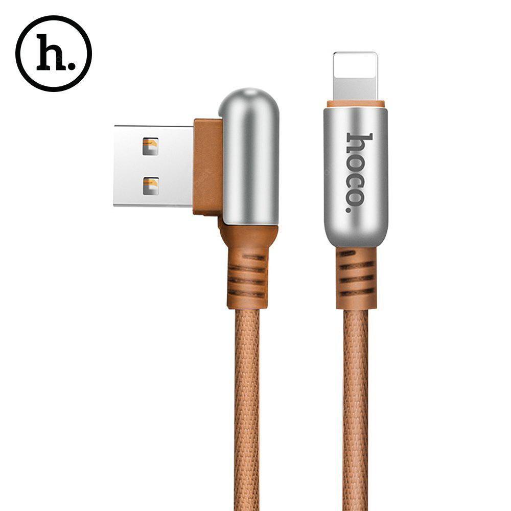 HOCO U17 Capsule L-type 8 Pin 2.4A Charging Data Cable 1.2M