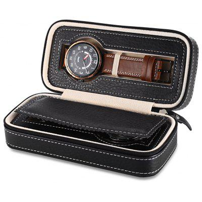 2 Grids Travel Watch Storage Case