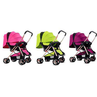 Foldable Pram Infant StrollerBaby Carriers &amp; Backpacks<br>Foldable Pram Infant Stroller<br><br>Item Type: Stroller<br>Material: Stainless Steel<br>Package Content: 1 x Baby Stroller<br>Package size (L x W x H): 79.00 x 53.00 x 21.50 cm / 31.1 x 20.87 x 8.46 inches<br>Package weight: 8.3400 kg