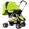 Foldable Pram Infant Stroller - GREEN