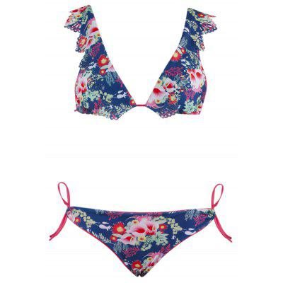 Ruffled Two-piece Swimsuit