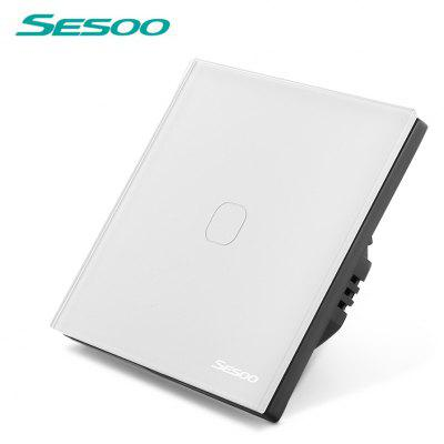 SESOO Smart Touch Screen Light Switch 1-gang 1-way