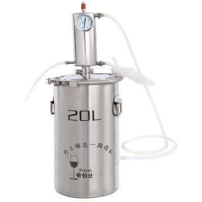 Dibosh Large Capacity Fermentor Stainless Steel Alcohol Distiller