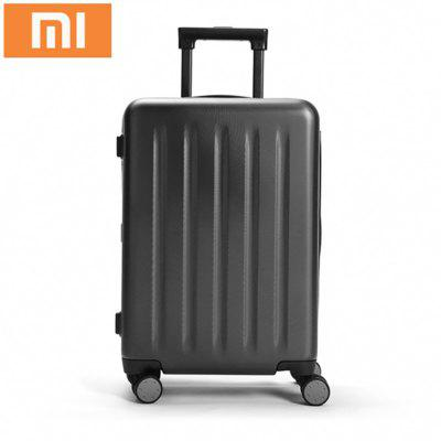 Buy BLACK Xiaomi 90 Minutes Spinner Wheel Luggage Travel Suitcase for $144.42 in GearBest store
