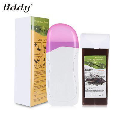 LIDDY Electric Depilatory Wax Heater Paper Strip Hair Removal