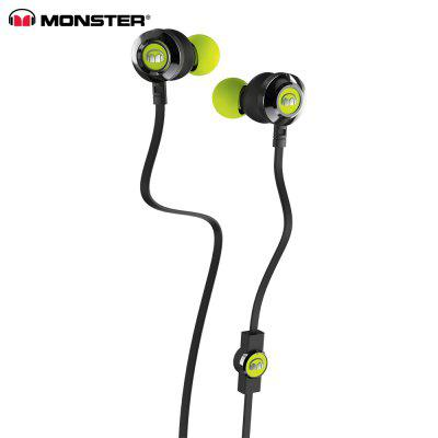 Monster Clarity HD 3.5MM Stereo Wired Earbuds with Mic