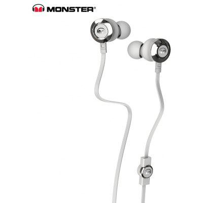 Buy WHITE Monster Clarity HD 3.5MM Stereo Wired Earbuds with Mic for $39.13 in GearBest store