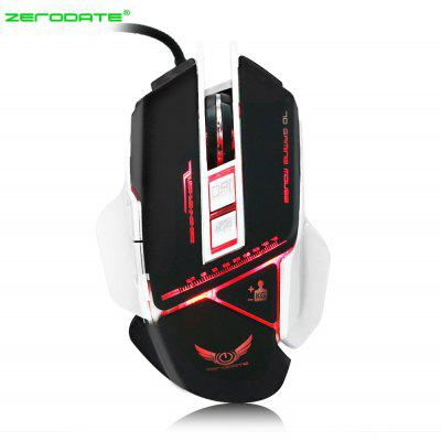 ZERODATE X400 Wired Gaming Mouse with LED Light