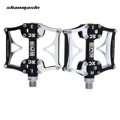 SHANMASHI SMS - 12T Paired Aluminium Alloy 3 Bearing Bicycle Pedal