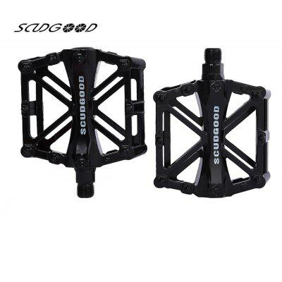 SCUDGOOD SG - 1021 Paired Aluminium Alloy Road Mountain Bicycle Pedal