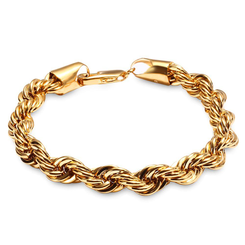 rope chain yellow chains gold itm mens s filled jewellry solid necklace