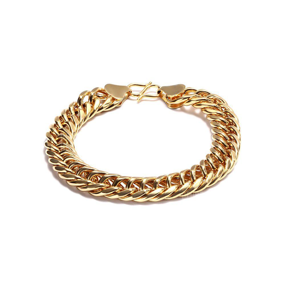 mens necklace lifetime cuban chains chain link unique solid luxury curb of smooth gold necklaces