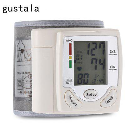 gustala Health Care Wrist Portable Digital Automatic Blood Pressure Monitor