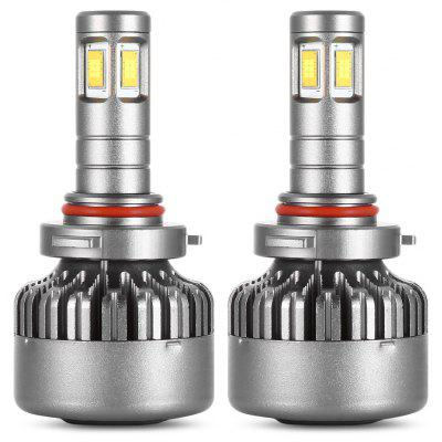 Pair of DC 12V / 24V V10 9006 Car LED Headlight