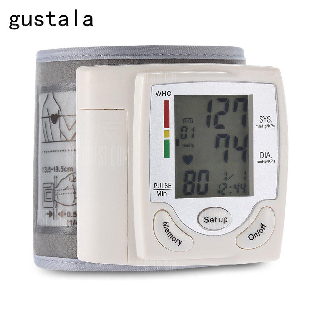 Gearbest gustala CK-101S Health Care Wrist Portable Digital Automatic Blood Pressure Monitor
