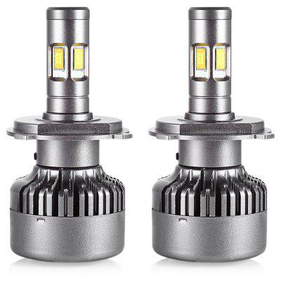 Pair of DC 12V / 24V V10 H4 Car LED Headlight