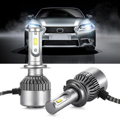 Pair of V7s H7 Car LED HeadlightCar Headlights<br>Pair of V7s H7 Car LED Headlight<br><br>Emitting color: White<br>Item Type: Car Headlights<br>Light Source: LED<br>Package Contents: 1 x Pair of Car LED Headlights<br>Package Size(L x W x H): 18.00 x 12.00 x 5.00 cm / 7.09 x 4.72 x 1.97 inches<br>Package weight: 0.2840 kg<br>Product weight: 0.0740 kg