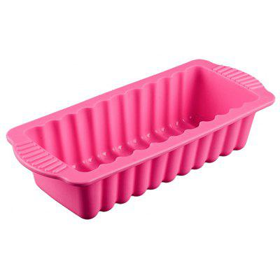 Rectangle Shape Silicone Multi-function Cake Bread Toast Mold Bakeware