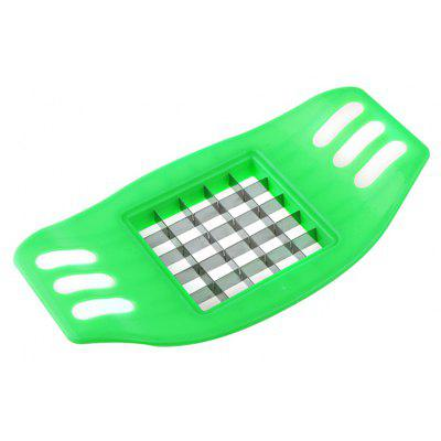 Buy GREEN Stainless Steel Potato Strip-cutter for $1.59 in GearBest store