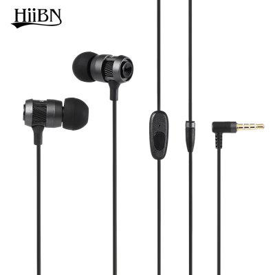 HIIBN HI400 3.5MM Rock Bass Stereo In-ear Music Earbuds