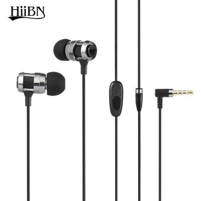 Buy LIGHT GRAY HIIBN HI400 3.5MM Rock Bass Stereo In-ear Music Earbuds for $6.87 in GearBest store