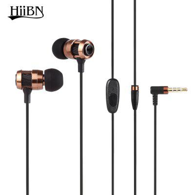 Buy COFFEE HIIBN HI400 3.5MM Rock Bass Stereo In-ear Music Earbuds for $6.87 in GearBest store