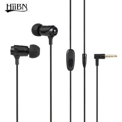 Buy BLACK HIIBN HI600 3.5MM Blues Stereo In-ear Music Headphones for $6.86 in GearBest store