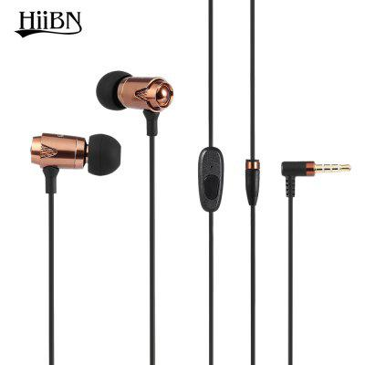 Buy COFFEE HIIBN HI600 3.5MM Blues Stereo In-ear Music Headphones for $6.86 in GearBest store