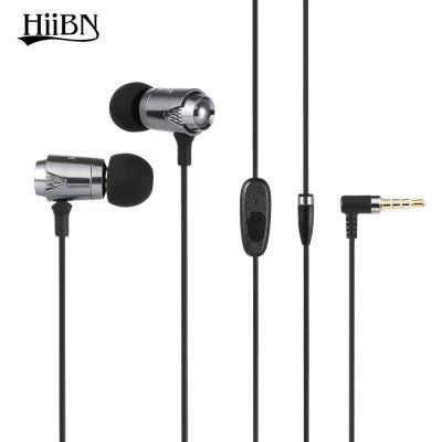 Buy GRAY HIIBN HI600 3.5MM Blues Stereo In-ear Music Headphones for $6.86 in GearBest store