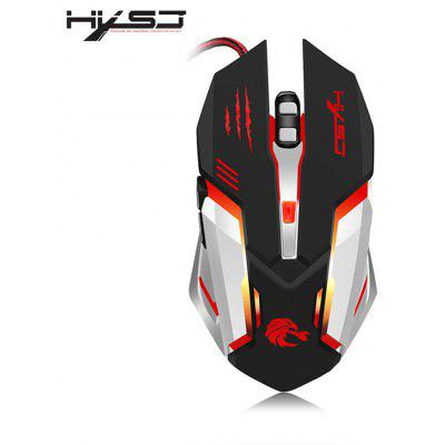 HXSJ S100 Wired Gaming Mouse with LED Light