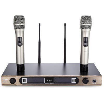 WEISRE U - 3316 Dual Channel Transmitter Microphone Set