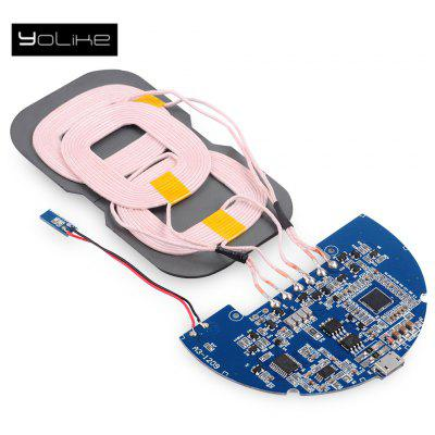 YoLike 5W DIY Qi Wireless Charger PCBA Circuit Board 3 Coils