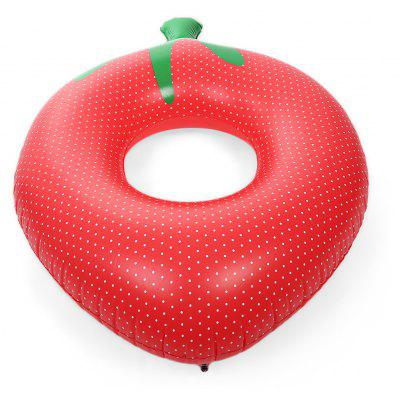 Strawberry Inflatable Swimming Ring Pool Float