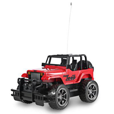 1:24 Vehicle Remote Control Car Off-road Jeep SUV ToyRC Cars<br>1:24 Vehicle Remote Control Car Off-road Jeep SUV Toy<br><br>Age Range: &gt; 3 years old<br>Control Channels: 4 Channels<br>Material: Plastic<br>Package Contents: 1 x Remote Car, 1 x Remote Controller<br>Package Size(L x W x H): 30.00 x 20.00 x 15.00 cm / 11.81 x 7.87 x 5.91 inches<br>Package weight: 0.4560 kg<br>Product weight: 0.3330 kg<br>Remote Control: Yes