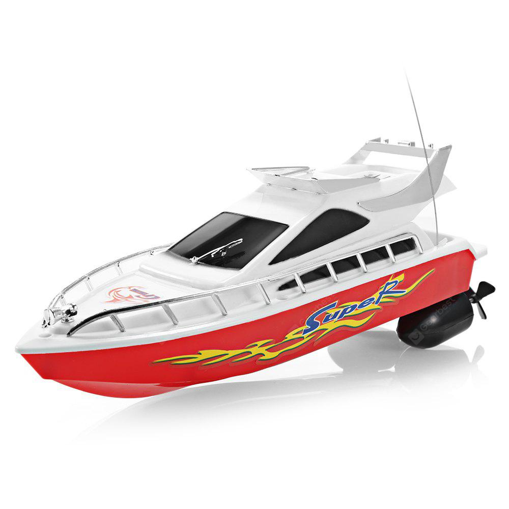 Bons Plans Gearbest Amazon - C101A Remote Control Boat Model Ship Sailing Plastic Toy