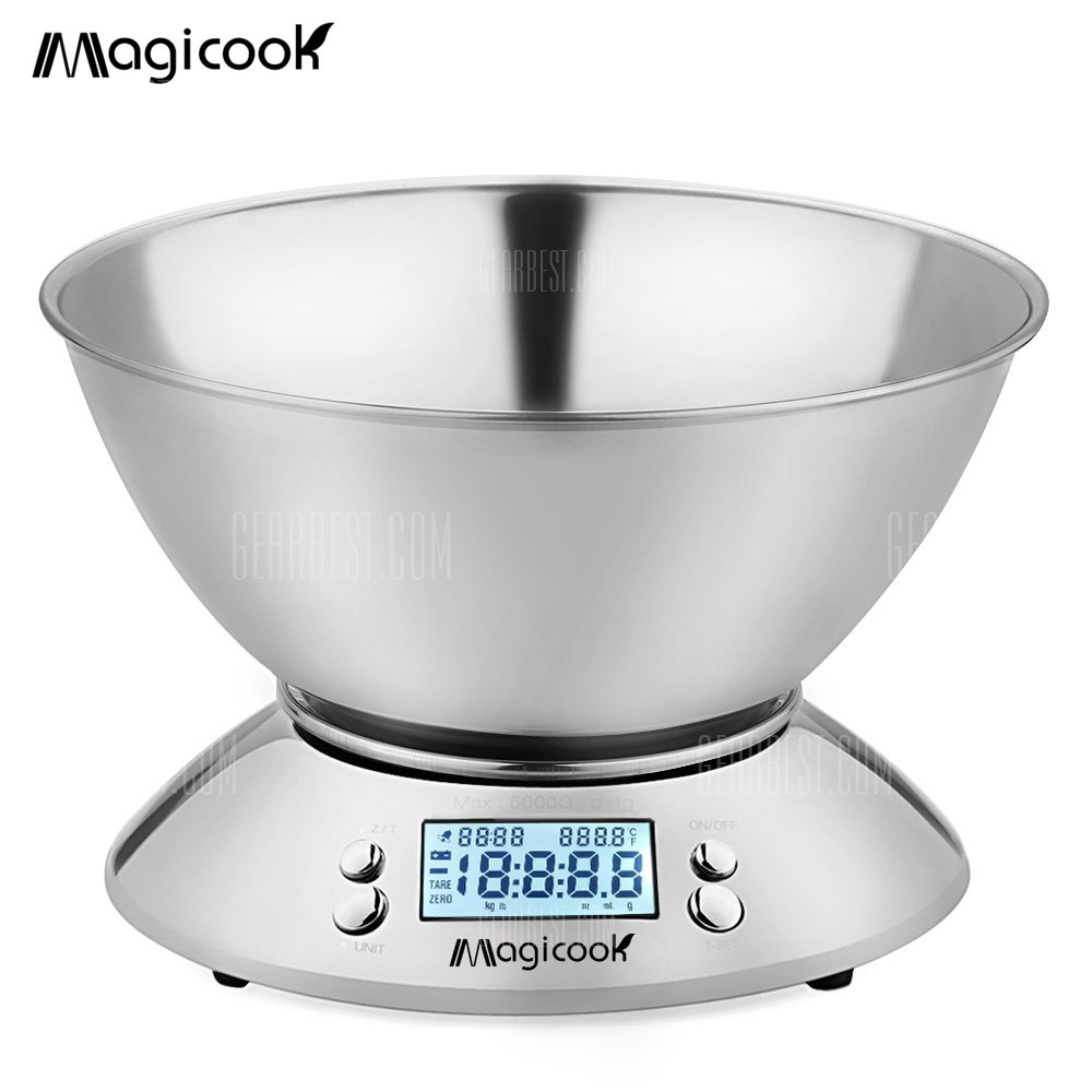 Magicook Stainless Steel Electronic Digital Kitchen Scale