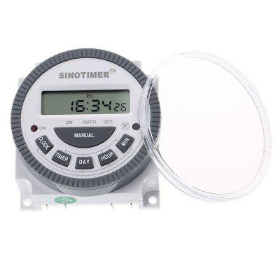 SINOTIMER 12V LCD Digital Multipurpose Programmable Control Power Timer Switch