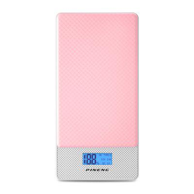 PINENG PN - 993 10000mAh QC 3.0 Dual USB Power BankPower Banks<br>PINENG PN - 993 10000mAh QC 3.0 Dual USB Power Bank<br><br>Battery Capacity(mAh): 9001-10000<br>Package Contents: 1 x Power Bank, 1 x Micro USB Cable, 1 x English User Manual<br>Package Size(L x W x H): 18.60 x 9.70 x 2.00 cm / 7.32 x 3.82 x 0.79 inches<br>Package weight: 0.2960 kg<br>Product Size(L x W x H): 14.50 x 7.00 x 1.50 cm / 5.71 x 2.76 x 0.59 inches<br>Product weight: 0.2320 kg