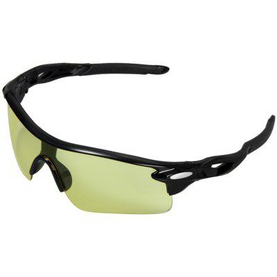 Buy YELLOW ROBESBON Bicycle Glasses PC Lens Eyewear Eye Protector for Driving Hiking Cycling for $2.58 in GearBest store