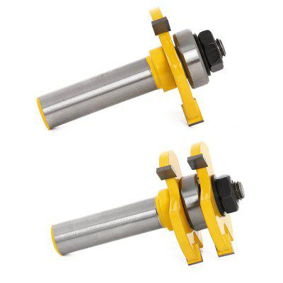 2 pcs T Type Milling Cutter