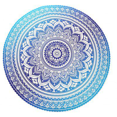 Buy COLORMIX 148x 148cm Round Chiffon Tapestry Bohemian Beach Towel for $7.99 in GearBest store