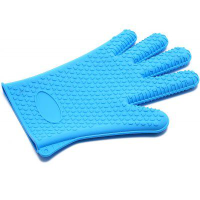 Oven High Temperature Resistant Silicone Gloves
