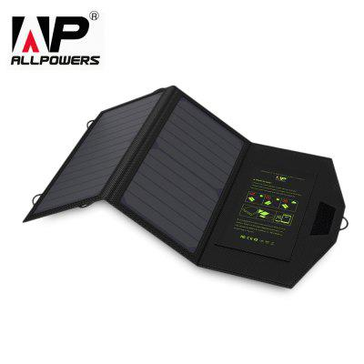 ALLPOWERS 5V 1.6A 14W Solar Panel Charger Folding Bag