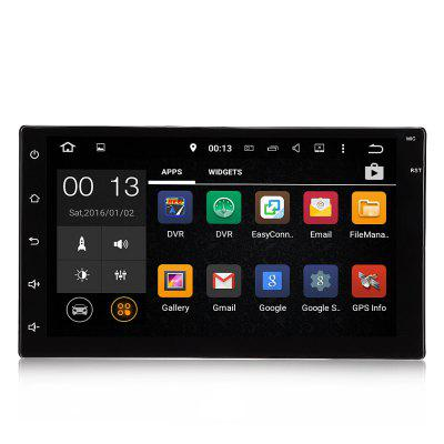 7003 Android 6.0 Car Multimedia PlayerCar DVD Player<br>7003 Android 6.0 Car Multimedia Player<br><br>Car Maker: Interchangeable<br>Cores: Quad Core<br>Digital Media Format: JPEG, MP3, WMA<br>Display size: 7<br>Max External Memory: 32G<br>OSD Language: English,French,German<br>Package Contents: 1 x Car Multimedia Player, 1 x GPS Antenna, 7 x Tail Line, 1 x Camera<br>Package Size(L x W x H): 26.00 x 26.00 x 16.00 cm / 10.24 x 10.24 x 6.3 inches<br>Package weight: 1.5700 kg<br>Placement: Car Console<br>Product Size(L x W x H): 17.80 x 12.80 x 10.20 cm / 7.01 x 5.04 x 4.02 inches<br>Product weight: 1.0540 kg<br>RAM: 1G<br>Resolution: 1080P<br>ROM: 16G<br>Special Feature: Steering Wheel Control, Wifi Function<br>Special features: MP3 Players, Touch Screen, Built-in GPS, Bluetooth, FM Transmitter