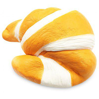 Squishy PU Sponge Slow Rising Simulate Jumbo Croissant Toy