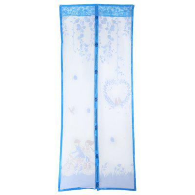 Willow Branches Pattern Anti-mosquito Magnetic Screen Door