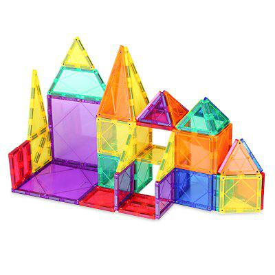MAG - WISDOM 3D 48pcs Magnetic Building Tiles