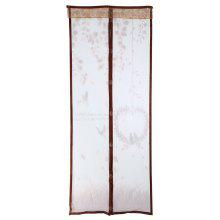 Leaves Pattern Anti-mosquito Magnetic Screen Door