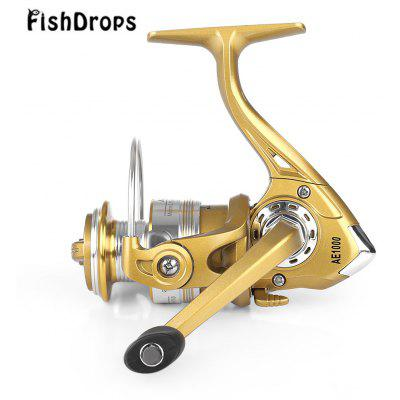 Buy GOLDEN Fishdrops 12 + 1BB Left Right Interchangeable Fly Fishing Reel for $14.18 in GearBest store